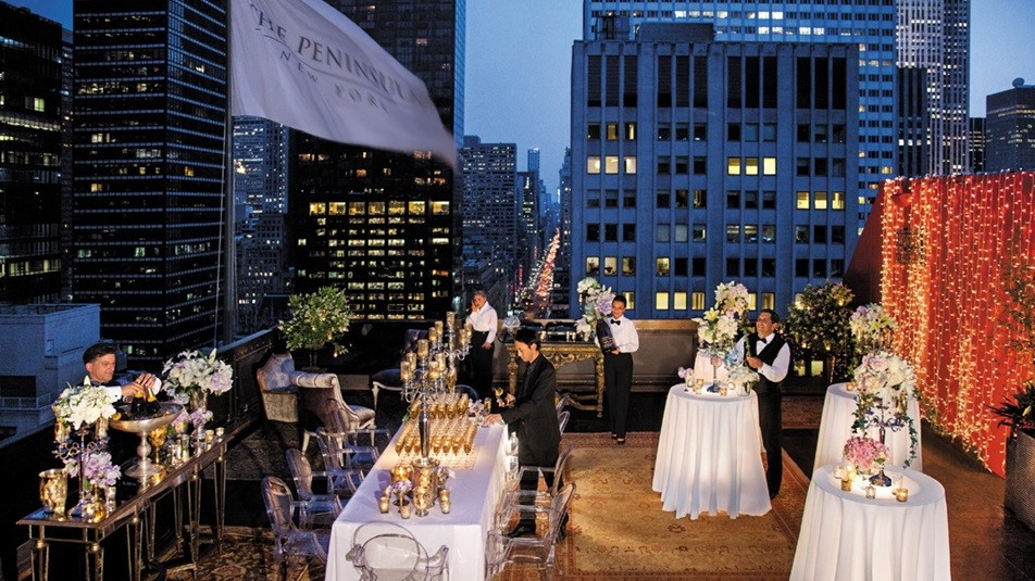 Top Hotel Rooftops For A New York City Wedding