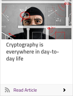 Cryptography is everywhere in day-to-day life