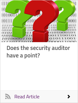 Does the security auditor have a point?