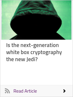 Is the next-generation white box cryptography the new Jedi?
