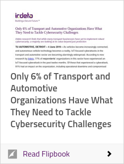 Only 6% of Transport and Automotive Organizations Have What They Need to Tackle Cybersecurity Challenges