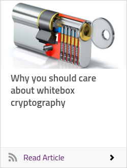 Why you should care about whitebox cryptography