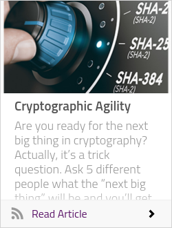 Cryptographic Agility
