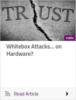 Whitebox Attacks… on Hardware?