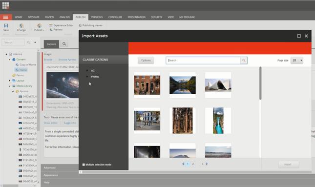Sitecore Connector for Aprimo Digital Asset Management