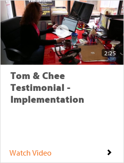 Tom & Chee Testimonial - Implementation