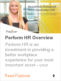 Perform HR Overview