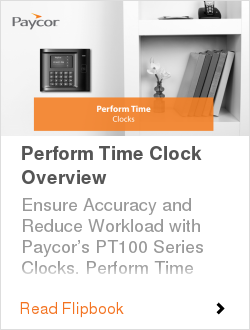 Perform Time Clock Overview