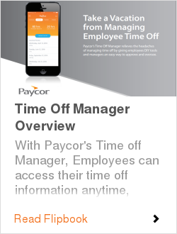 Time Off Manager Overview