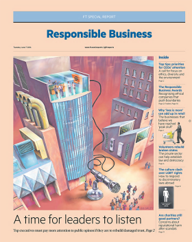 The FT Responsible Business Special Report 2016
