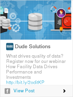 Register now for our webinar How Facility Data Drives Performance and Investments