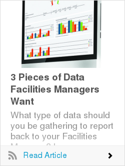 3 Pieces of Data Facilities Managers Want