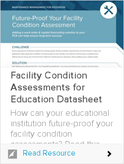 Facility Condition Assessments for Education Datasheet