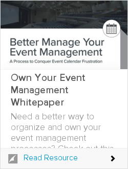 Own Your Event Management Whitepaper