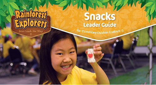 Snacks Guide Sample | VBS 2020