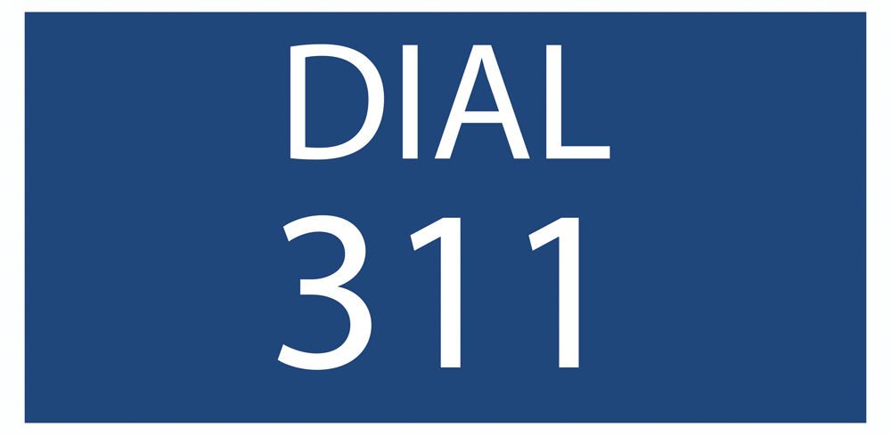 Dial 311