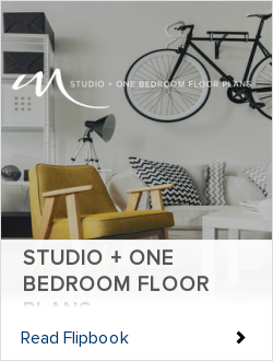 STUDIO + ONE BEDROOM FLOOR PLANS