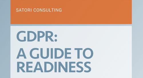 Satori - GDPR: A Guide To Readiness