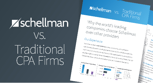 Schellman vs Traditional Firms