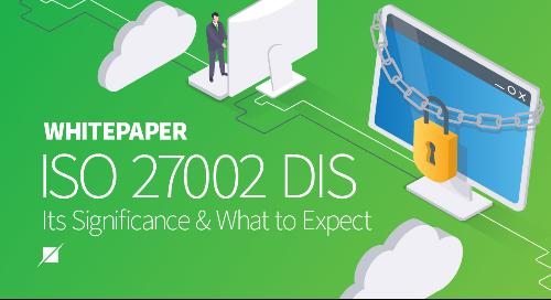 ISO 27002 Draft International Standard