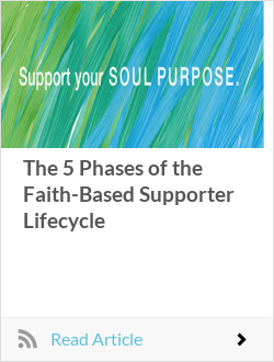 The 5 Phases of the Faith-Based Supporter Lifecycle