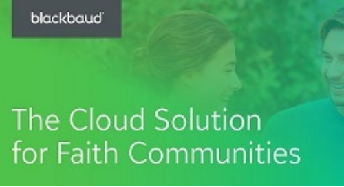 The Cloud Solution for Faith Communities