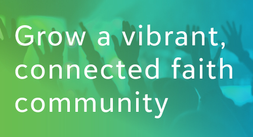 DATASHEET: Discover the Cloud Solution for Faith Communities