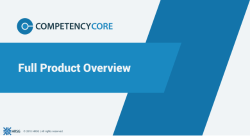 CompetencyCore Software Brochure