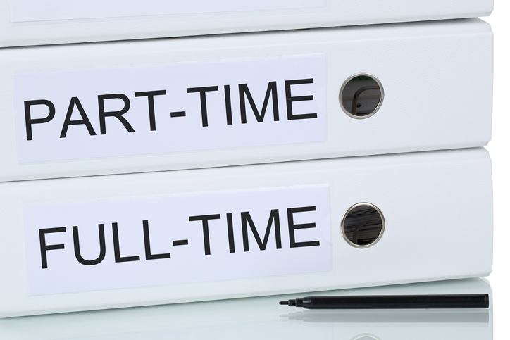 Part time and full time binders