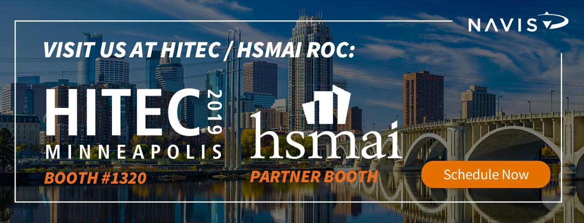 Visit with NAVIS at HITEC & HSMAI ROC