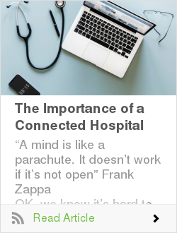 The Importance of a Connected Hospital