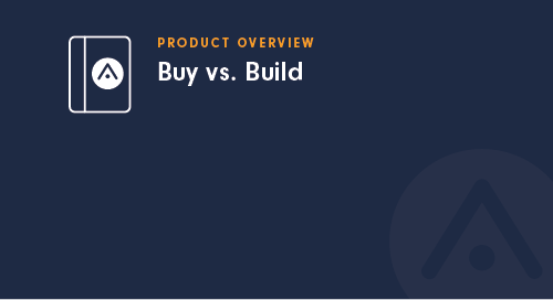 Buy vs. Build