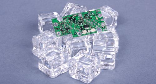 PCB-Wärmemanagement mit Eiswürfeln