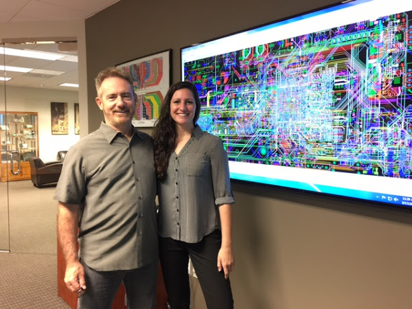 PCB Designer fam Nicole Pacino and her Dad Mike Creeden