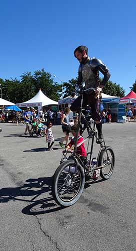 Bike at Makerfaire