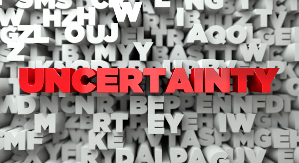 Uncertainty is used by random number generators