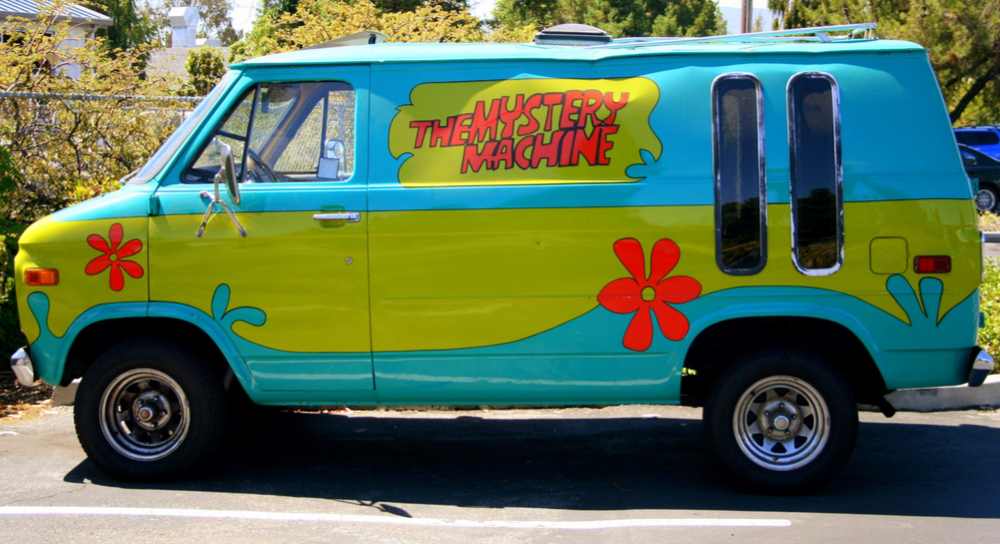 Picture of Scooby Doo's Mystery Machine