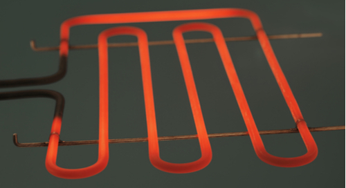 Hot heating element