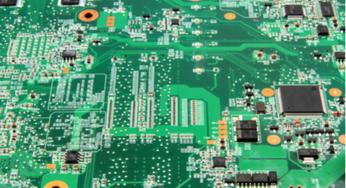 Picture of motherboard layout