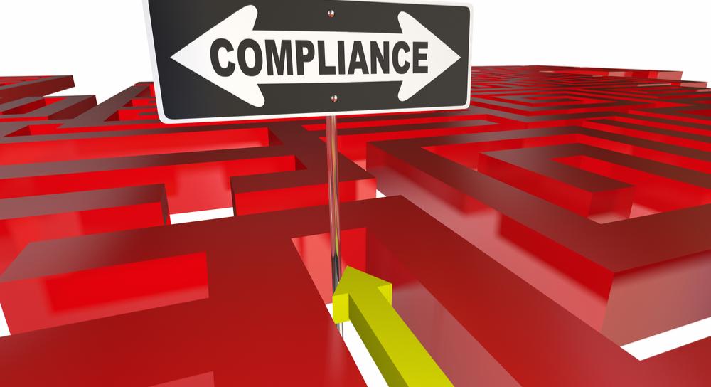 Compliance sign maze