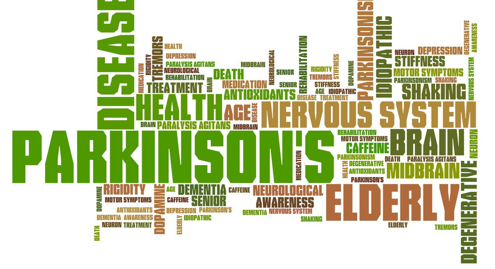 Parkinson's Disease word concept