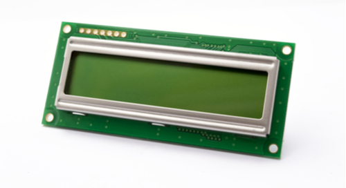 Green board with LCD display
