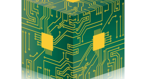 Bild eines PCB-Würfels