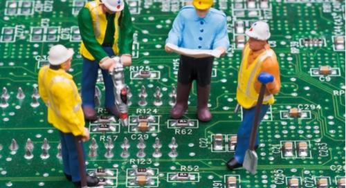 engineers on PCB