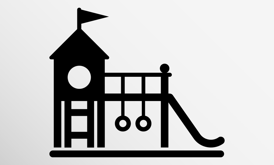 Diagram of all-in-one playground