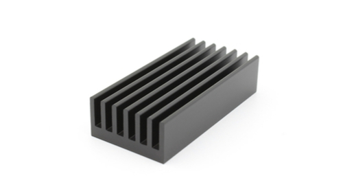 SMD Heat sink on white background