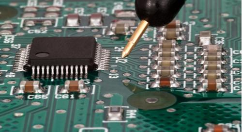 Testing a PCB