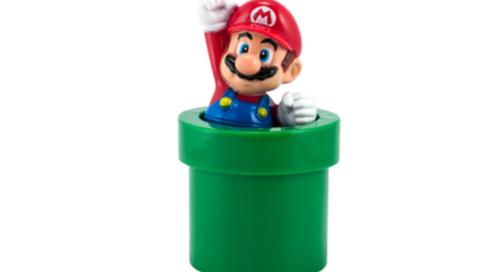Mario's green tube