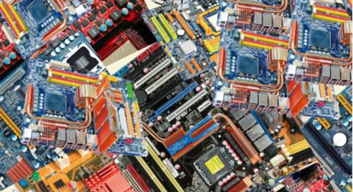 Pile of multiboard PCBs