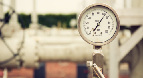Pressure gauge and sensor values meter
